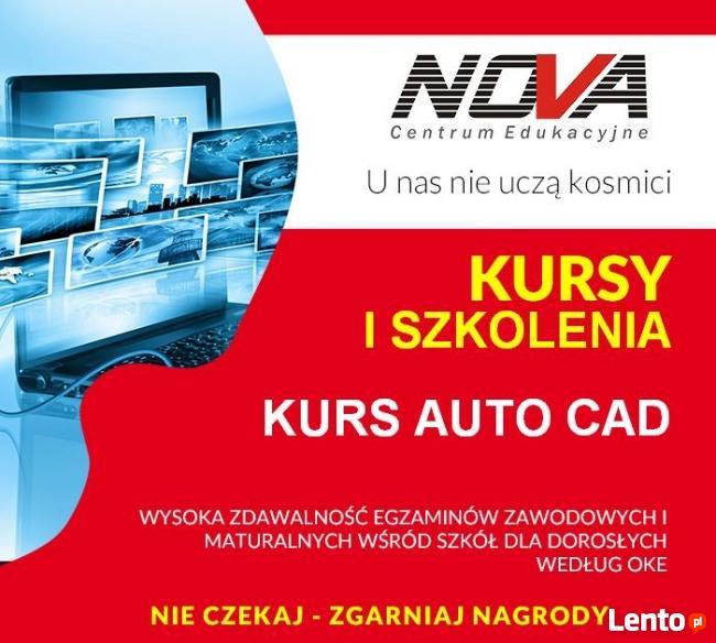 Kurs AutoCAD tylko 549 zł !!! Gliwice