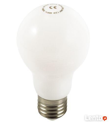 Żarówka LED E27 PEŁNY KLOSZ 7,5W biała ciepła