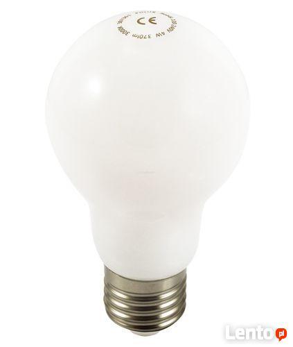 Żarówka LED E27 PEŁNY KLOSZ 4W biała ciepła
