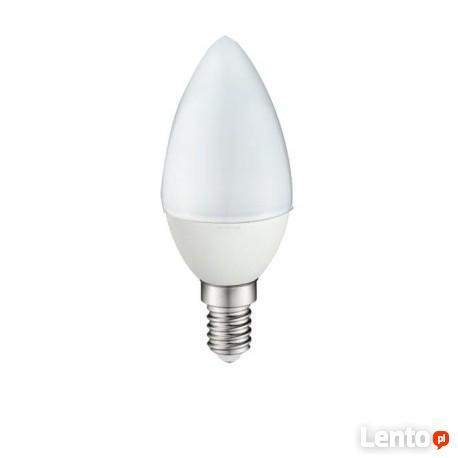 Żarówka LED E14 świeca 3W biała ciepła