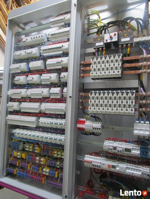 Elektryk, szafy sterownicze, rozdzielnie, pomiary, dźwigi