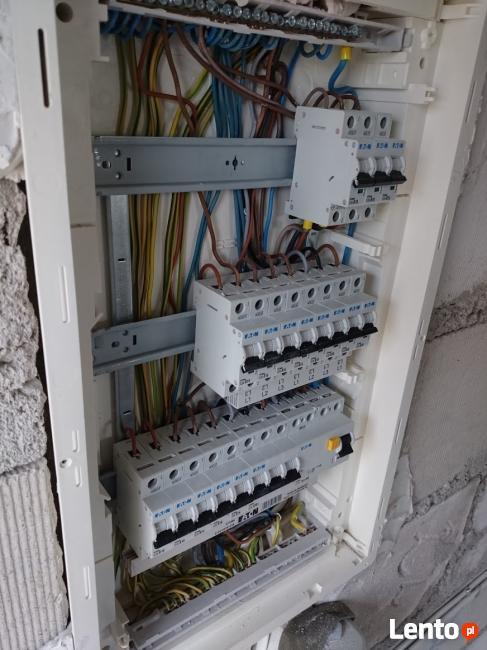 Usługi elektryczne, instalacje elektryczne