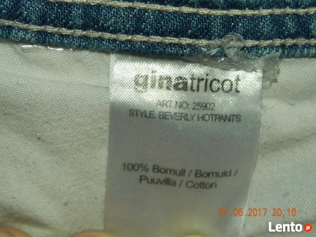 Sprzedam spodenki marki Gina Tricot rozmiar 32