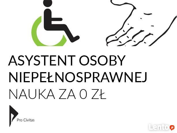 Asystent osoby niepełnosprawnej - Nauka za darmo - Bezpłatna