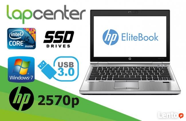 Mobilny HP EliteBook 2570P i5 8GB RAM 128GB SSD W7P LapCente