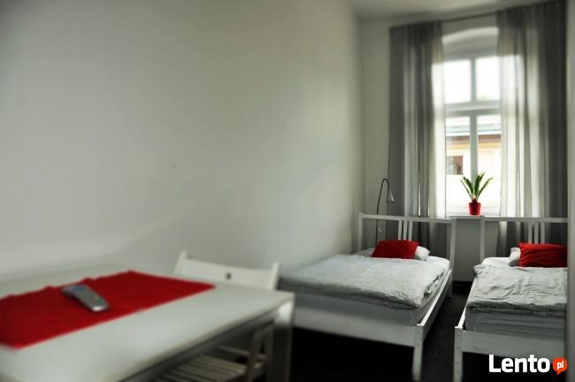 Tanie pokoje 2 osobowe na doby! Poznan centrum