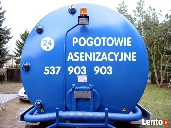 Wywóz nieczystości płynnych 24HUsługi Asenizacyjne Czosnów