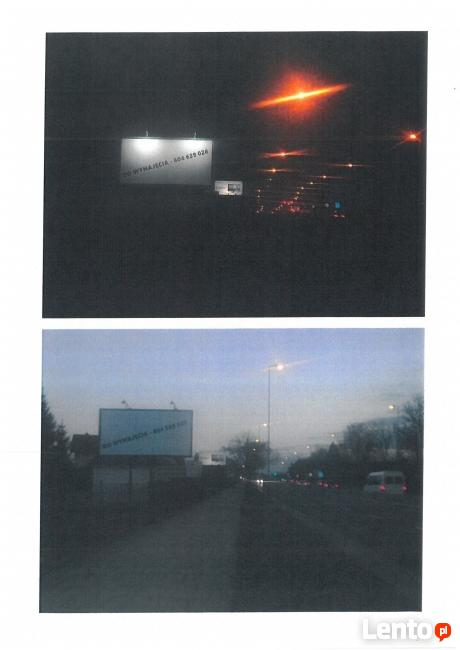 Tablica reklamowe w Krakowie - ul. Zakopiańska do wynajęcia