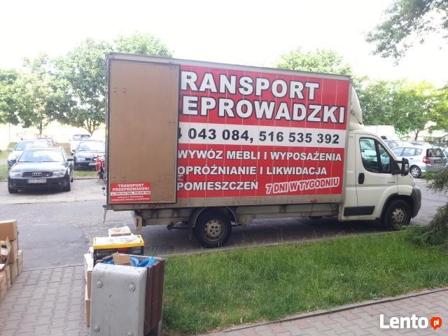 przeprowadzki transport bagażówka tanio! cała warszawa 7dni