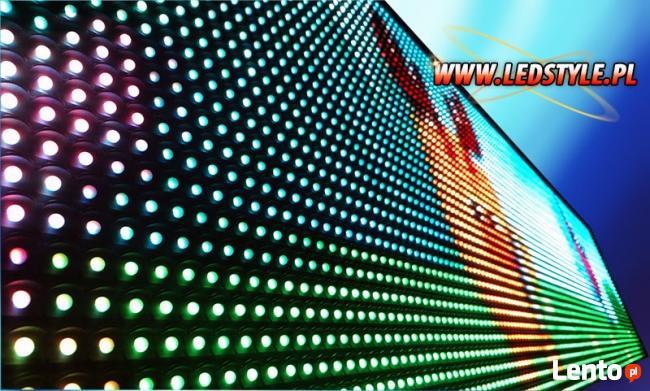 Tablica LED 128x32 Reklama świetlna Wyświetlacz Producent