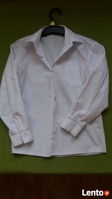 Koszula chłopięca z długim rękawem 128