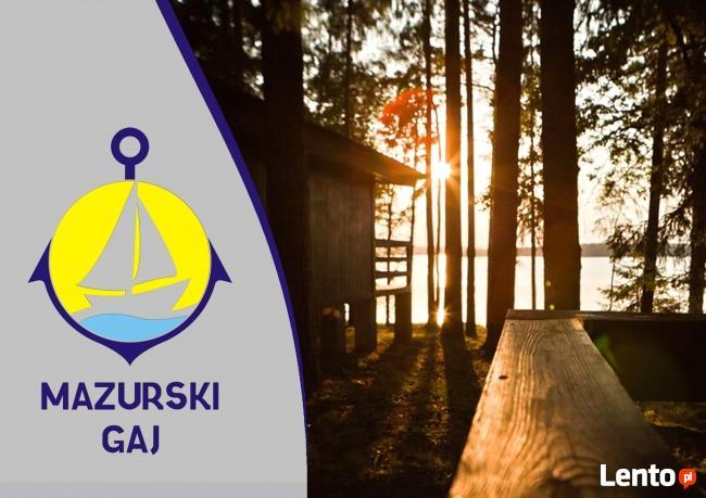 Wynajem domków nad jeziorem Bełdany Mazurski Gaj