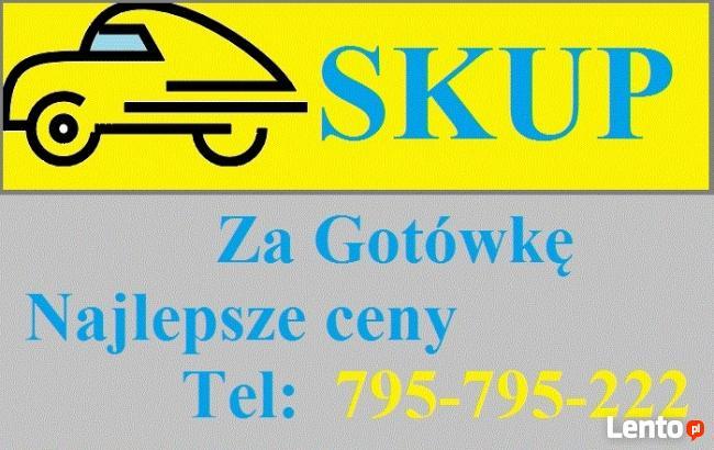 SKUP samochodów i motocykli GOTÓWKA 795-795-222