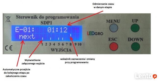 Sterownik do programowania, 6 wejść, 10 wyjść, ustaw swój pr