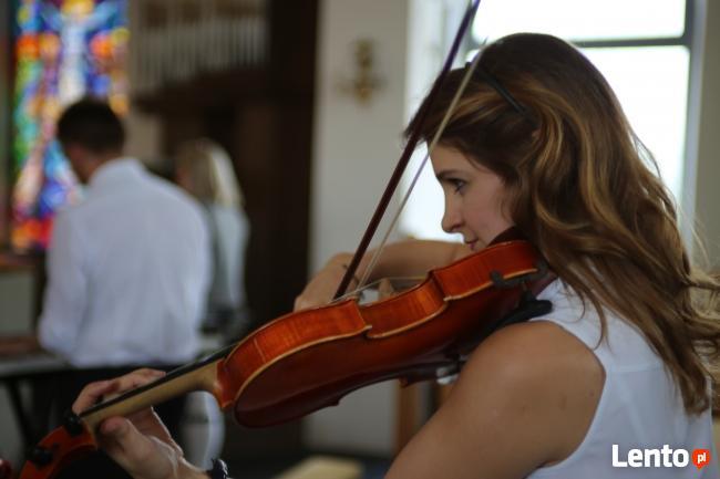 Oprawa muzyczna slubu- skrzypce