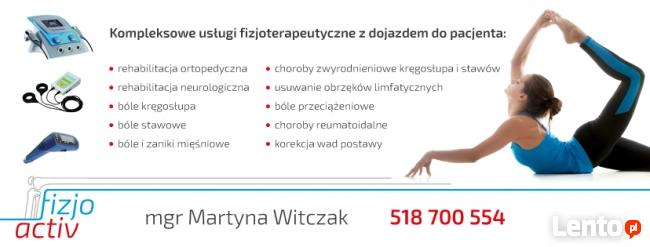 FizjoActiv - gabinet fizjoterapii mobilnej