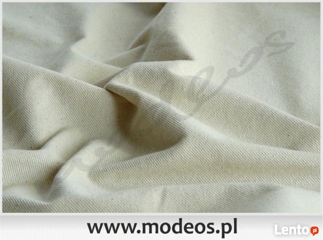 Surówka bawełniana tkanina surowa bawełna ekologiczna 280gr