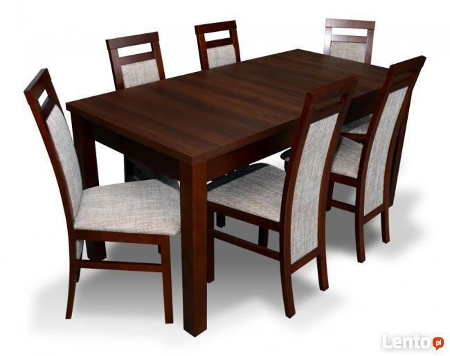 Zestaw Stół z 6 krzesłami - sellmeble