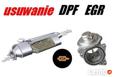 Usuwanie Dpf EGR 200zł Audi Vw Seat Skoda Opel usunięcie