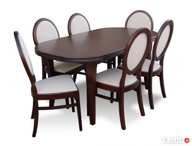 Zestaw, Stół + 6 krzeseł - sellmeble-Promocja!