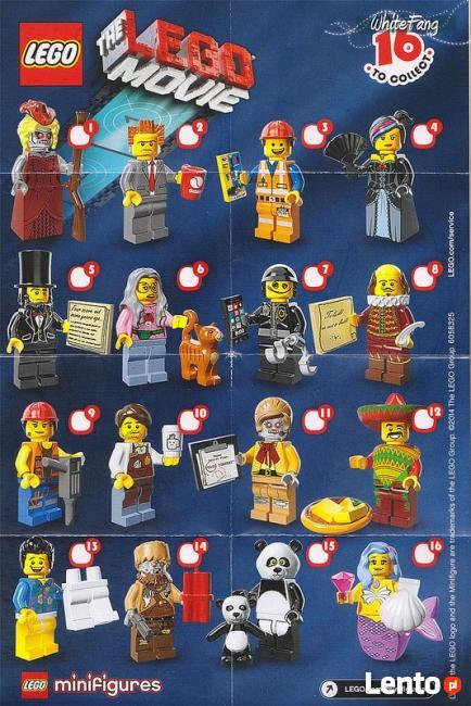 LEGO MINIFIGURES - 71004 - SERIA The Lego Movie - Wyprzedaż