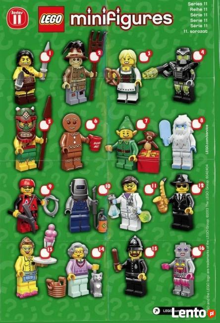 LEGO MINIFIGURES - 71002 - 11 SERIA - Wyprzedaż kolekcji
