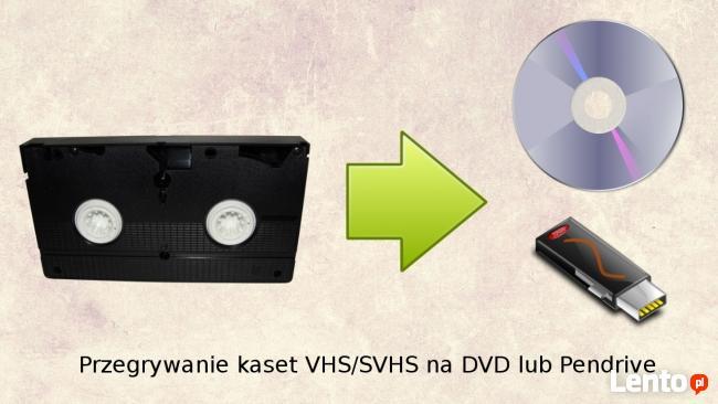 Przegrywanie kaset VHS na DVD lub Pendrive