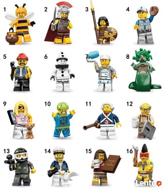 LEGO MINIFIGURES - 71001 - 10 SERIA - Wyprzedaż kolekcji
