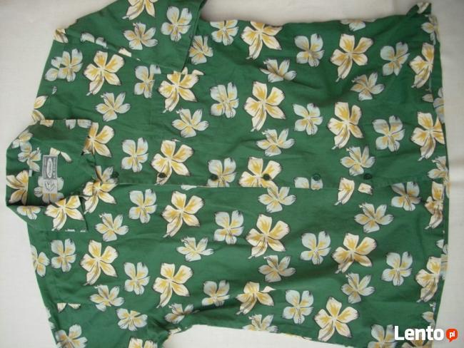 LE FROG świetna koszula WZÓR lato HIT M L