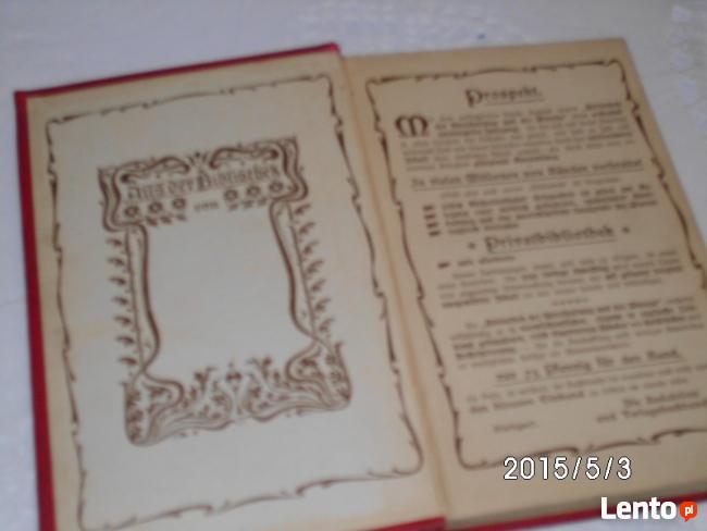 Sprzedam wydanie z 1902 roku