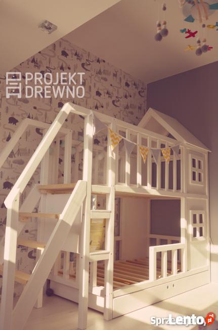 Łóżeczka domki dla dzieci / styl skandynawski / HOUSE BED