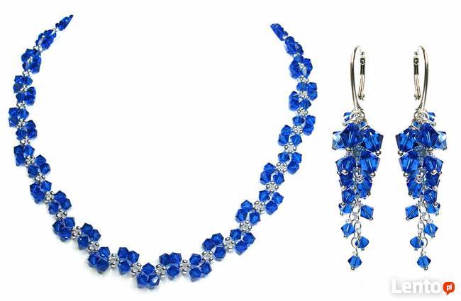 Biżuteria Ślubna Swarovski - piękny komplet