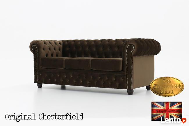 Cherstrefield sofa 3 os Fluweel