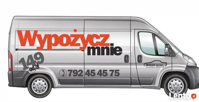 Wynajem wypożyczalnia samochodów dostawczych busów BNS24mobi