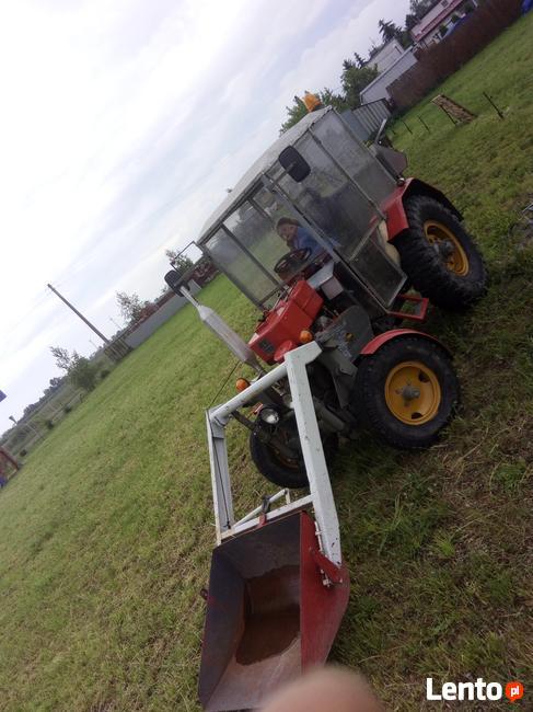 Traktorek SAM kabina, wspomaganie, tur, spych ES