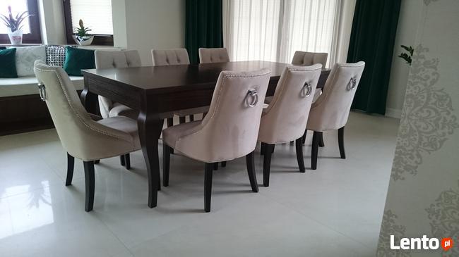Krzesło shabby vintage chesterfield glamour hampton producen