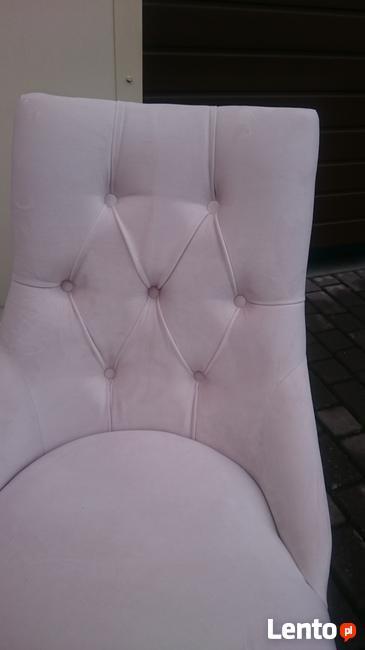 Chesterfield nowe eleganckie nowoczesna tapicerowane krzesło