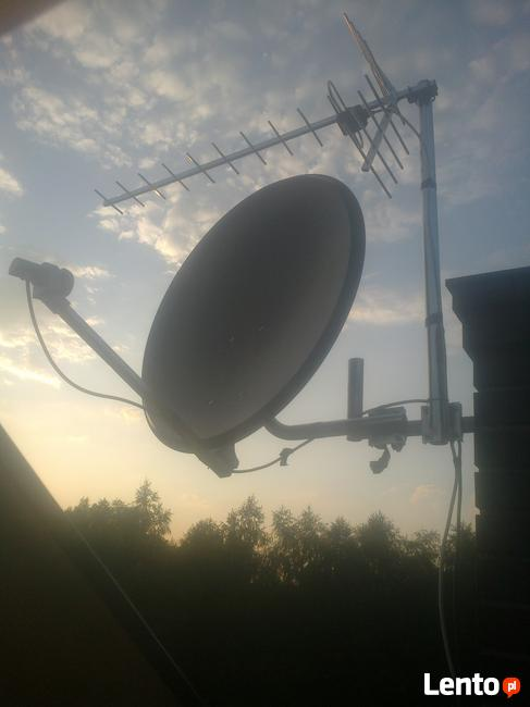 MONTAŻ ANTEN TV-SAT GRYBÓW TEL.664491116 BIECZ,CIĘŻKOWICE