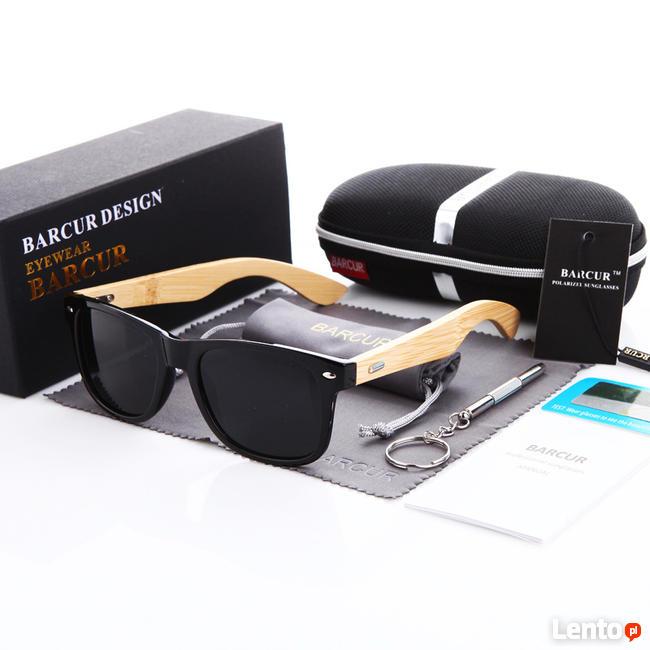 Bambusowe Okulary Przeciwsłoneczne UV400