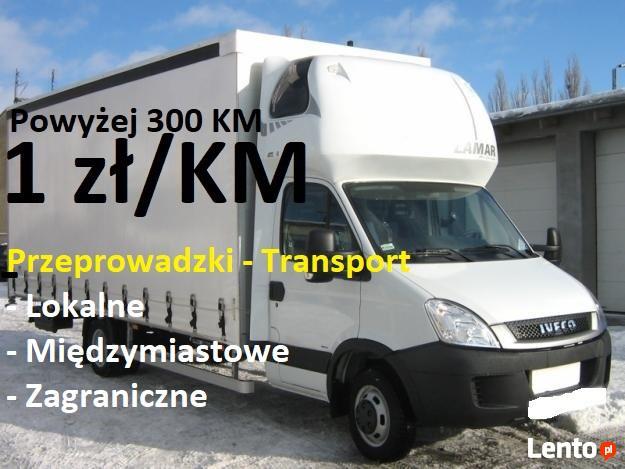 RK Przeprowadzki - Transport - 1 zł/KM - międzynarodowe