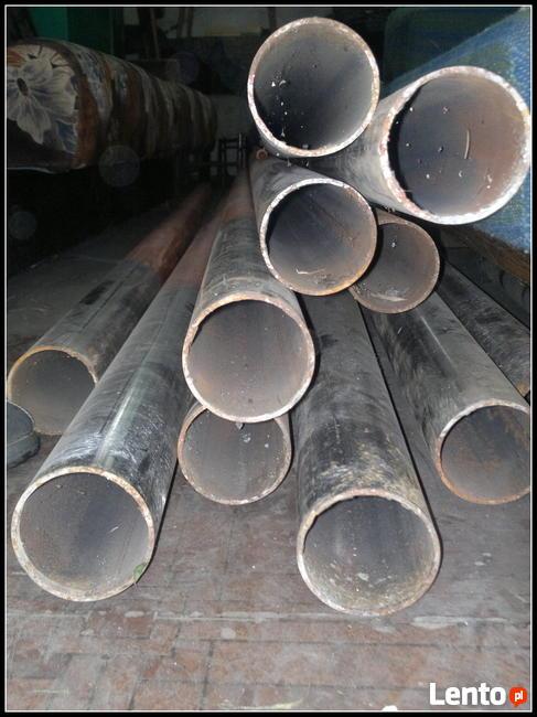 Słupki ogrodzeniowe 11 szt ;  2,80cm + pręty na drut ; fi 75