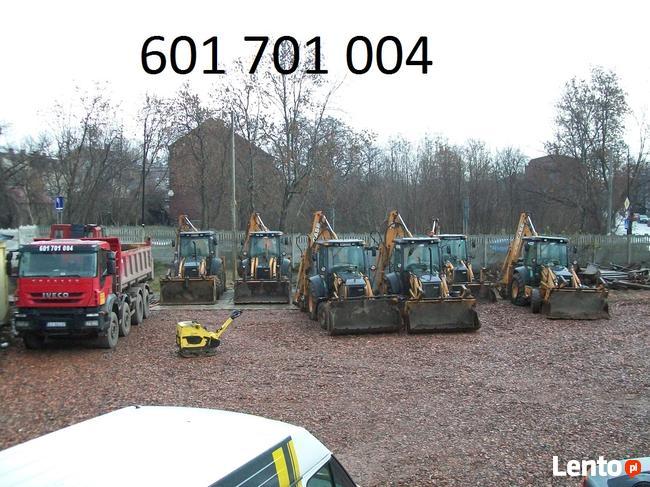 601701004 koparka Gliwice, koparko-ładowarka, transport