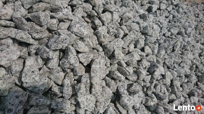 Kamień ozdobny, kruszywo ozdobne grys granitowy
