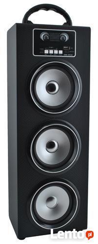 Głośnik duży przenośny z bluetooth USB SD MP3 Radio FM