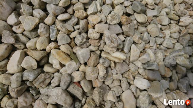 Kamienie ozdobne, kruszywo ozdobne otoczak kremowy