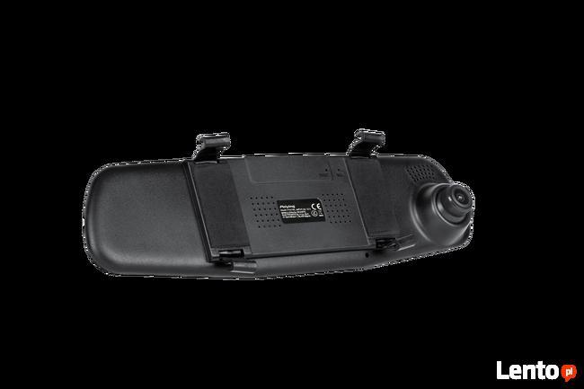 Lusterko samochodowe Peiying z rejestratorem i kamerą cofani