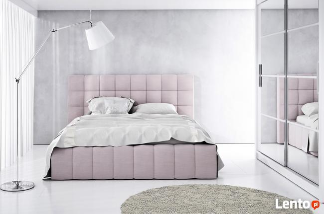 łóżko Tapicerowane Rose 4 140160180x200 Stelaż Drewniany