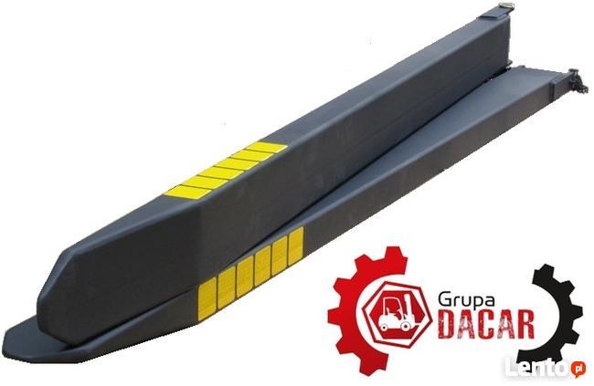 Przedłużki wideł 2000x140x60 przedłużenie wideł nasady wideł