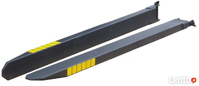 Przedłużki wideł 1800x140x70 przedłużenie wideł nasada widla