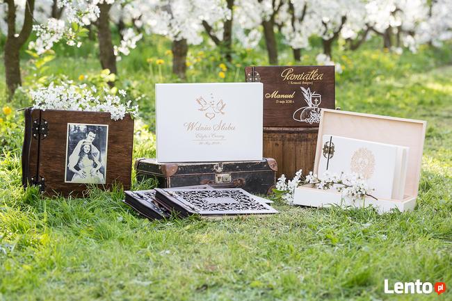 !!! Album drewniany - Prezent na Ślub !!!